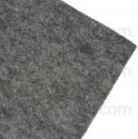 фетр 1мм 20см*30см полиэстер бело-серый меланж 0060