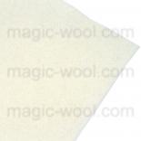 фетр 3мм 20см*30см натуральная шерсть молоко