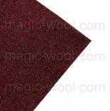 фетр 3мм 20см*30см натуральная шерсть вереск