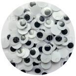 глазки для игрушек глазки подвижные 15мм