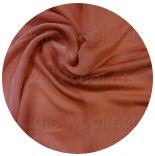 шарфы шелковые окрашенные однотонные и с переходами кирпичный