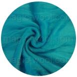 шарфы шелковые окрашенные однотонные и с переходами кобальт