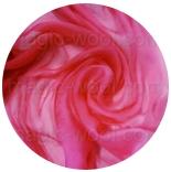 шарфы шелковые окрашенные однотонные и с переходами ярко розовый