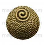 подвески металлические винтажный круг 38мм античная бронза