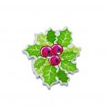 пуговицы декоративные лист смородины 30мм*27мм