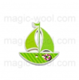 пуговицы декоративные кораблик 1