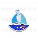 пуговицы декоративные кораблик 4