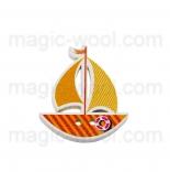 пуговицы декоративные кораблик 5