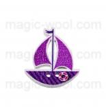 пуговицы декоративные кораблик 6