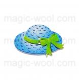 пуговицы декоративные шляпа 6
