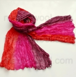 многоцветные шарфы 90см*150см шарф многоцветный 001