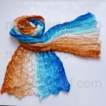 многоцветные шарфы 90см*150см шарф многоцветный 012