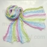 многоцветные шарфы 90см*150см многоцветный шарф 025