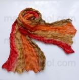 многоцветные шарфы 90см*150см шарф многоцветный 005