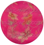 шарфы шифоновые цветные 110см*175см шелковый шарф 006
