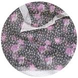 шарфы шифоновые 165см*55см шарф шифоновый 24