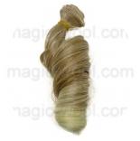 волосы для кукол крупный локон блонд 87