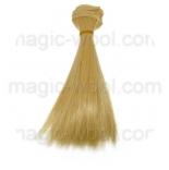 волосы для кукол блонд № 14