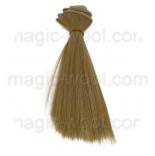 волосы для кукол блонд №16