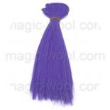 волосы для кукол фиолет