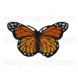 тканевые нашивки, термонаклейки, аппликации, заплатки на одежду термонаклейка бабочка 01