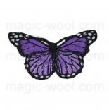 тканевые нашивки, термонаклейки, аппликации, заплатки на одежду термонаклейка бабочка 04