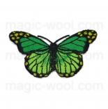 тканевые нашивки, термонаклейки, аппликации, заплатки на одежду термонаклейка бабочка 05