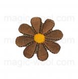тканевые нашивки, термонаклейки, аппликации, заплатки на одежду термонаклейка цветок 09