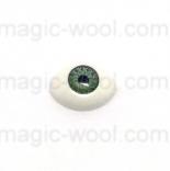 глазки для игрушек акриловые реалистичные зеленые 11мм*8мм