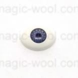 глазки для игрушек акриловые реалистичные серые 11мм*8мм