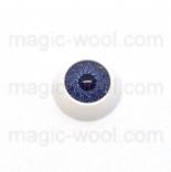 глазки для игрушек акриловые реалистичные серые 12мм