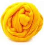 шерсть 22-24мкм Троицкая желтый полутонкая