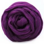 шерсть 22-24мкм Троицкая фиолетовый