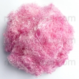 очес банановых волокон розовый