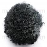 очес банановых волокон черный