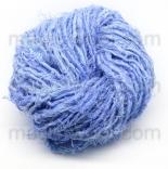 пряжа льняная голубой