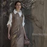 книги и мастер классы Диана Нагорная «Элегантность простых решений в войлоке. Платье»