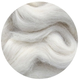 aльпака (Alpaca) + бленды сури натурально белая