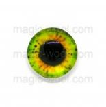 глазки для игрушек стеклянные 14мм цвет 2