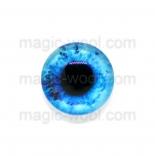 глазки для игрушек стеклянные 14мм цвет 1