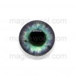 глазки для игрушек стеклянные 14мм цвет 3