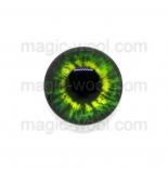 глазки для игрушек стеклянные 14мм цвет 5