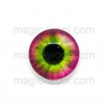 глазки для игрушек стеклянные 14мм цвет 6