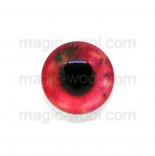 глазки для игрушек стеклянные 14мм цвет 7