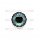 глазки для игрушек стеклянные 10мм цвет №3