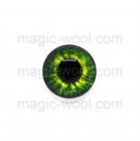 глазки для игрушек стеклянные 10мм цвет №5