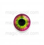 глазки для игрушек стеклянные 10мм цвет №6