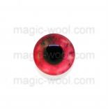 глазки для игрушек стеклянные 10мм цвет №7