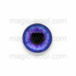 глазки для игрушек стеклянные 10мм цвет №8