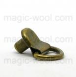 Люверсы, блочка, хольнитены, петли петля обувная итальянская антик